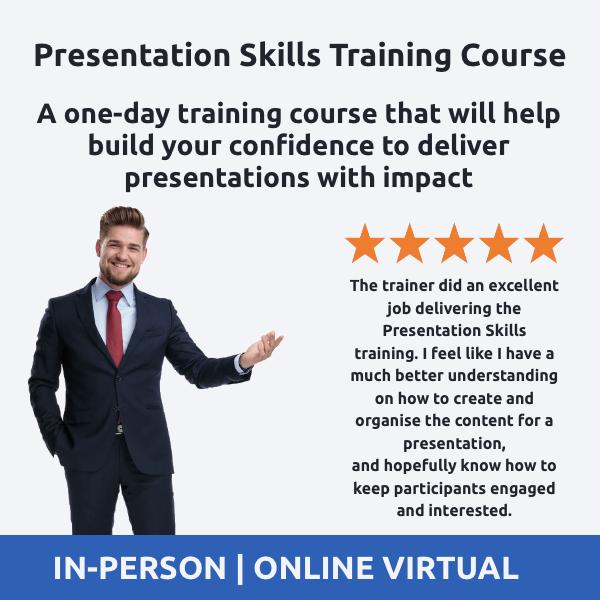 Presentation Skills Training Course