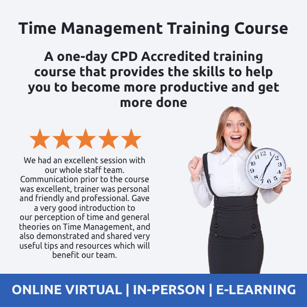 Time Management Training Course - Online Time Management Training