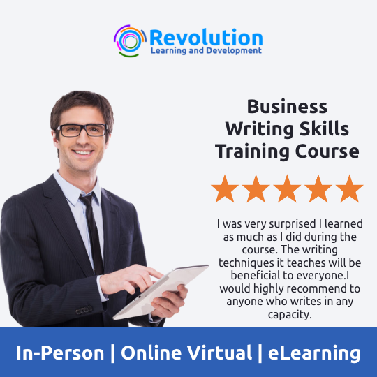Business Writing Skills Training Course - Online Business Writing Training