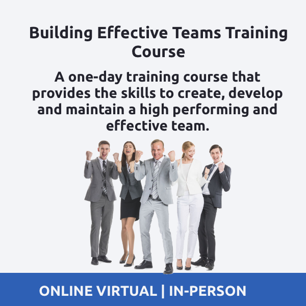 Building High Performing Teams Training Course