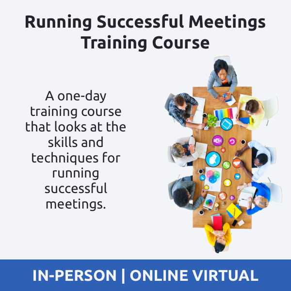 Running Successful Meetings Training Course