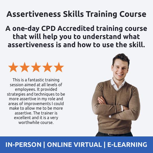 Assertiveness Skills Training Course - Revolution Learning and Development Ltd