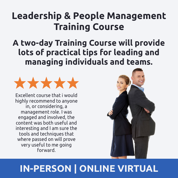 Leadership and People Management Training Course